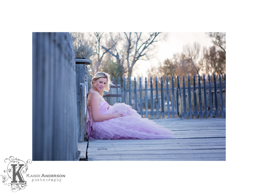 Senior images for Kandi Anderson Photography