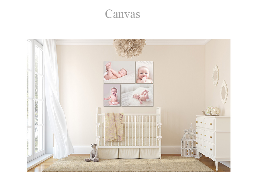 Canvas offered at kandi Anderson Photography