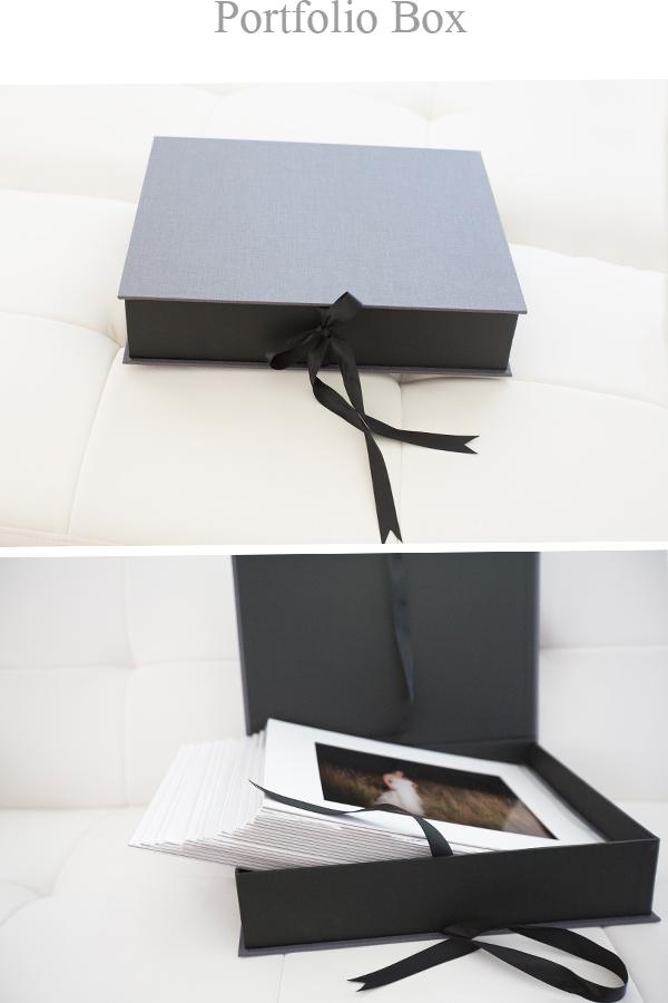 portfolio box offered at Kandi Anderson Photography