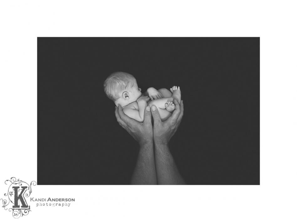 newborn unposed session at Kandi Anderson Photography